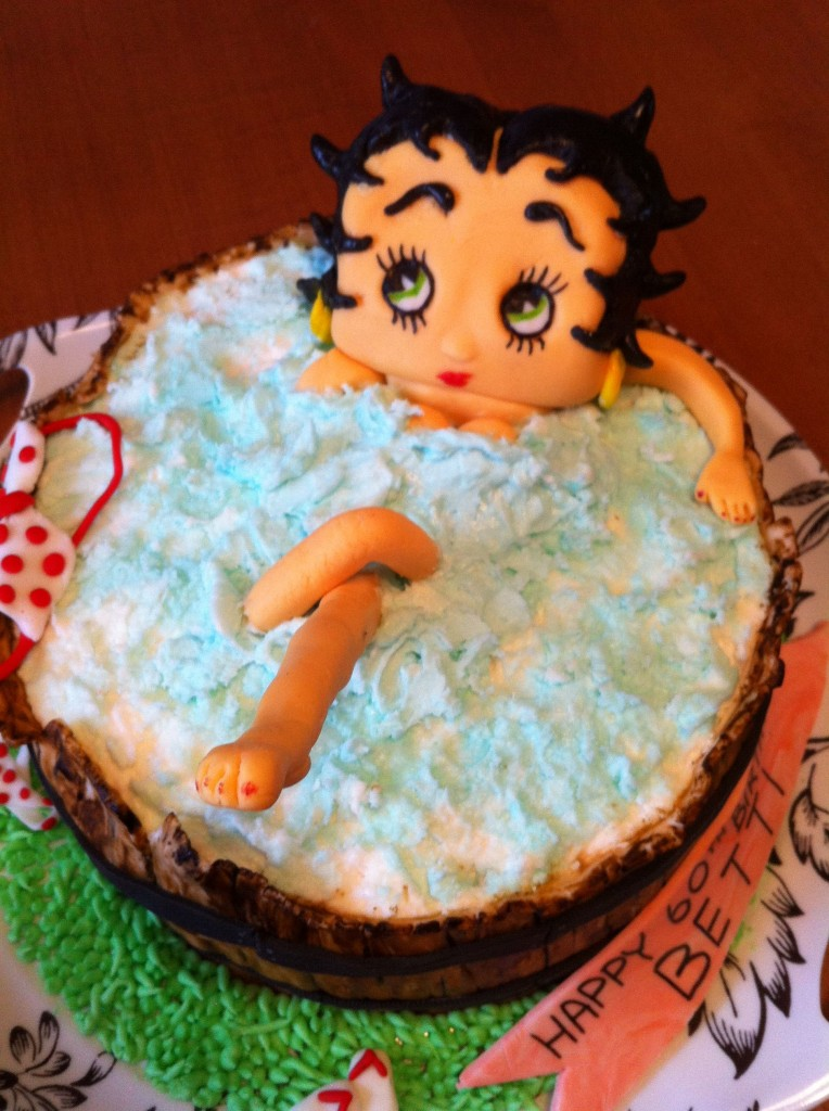 Betty Boop Birthday Cake Decorations