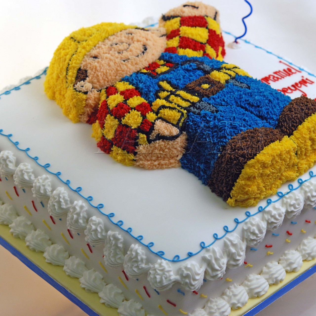 How To Make Bob The Builder Cake