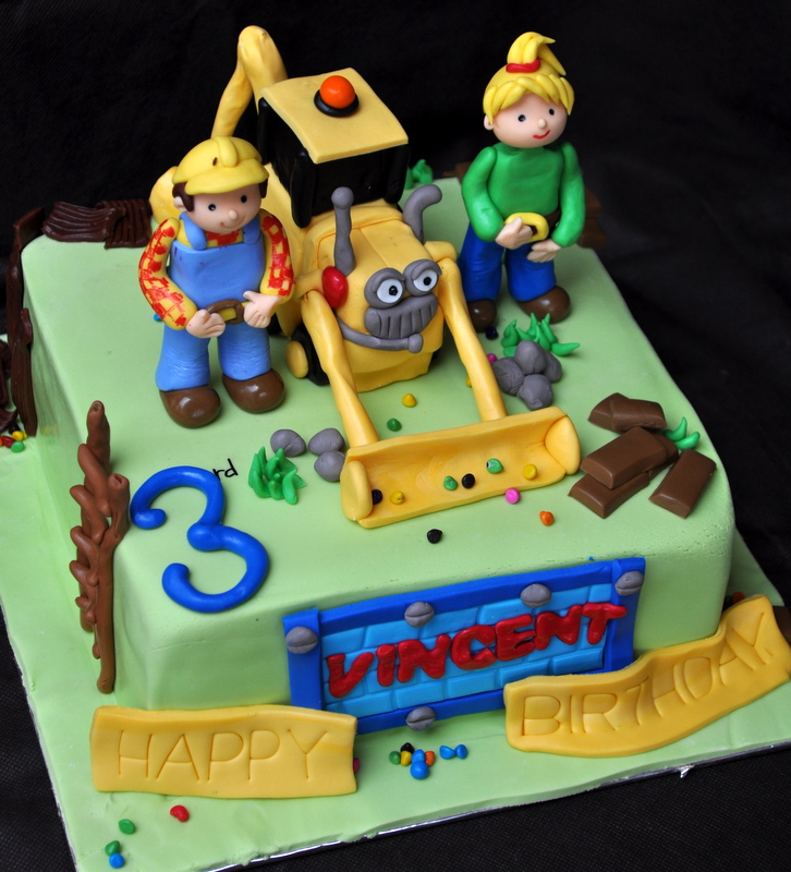 Bob The Builder Cakes Decoration Ideas Little Birthday Cakes