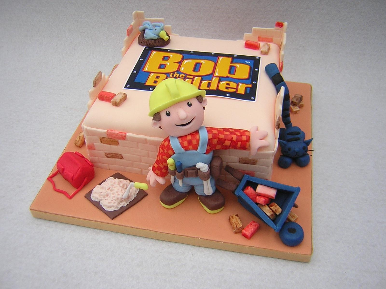 How To Make Bob The Builder Cake