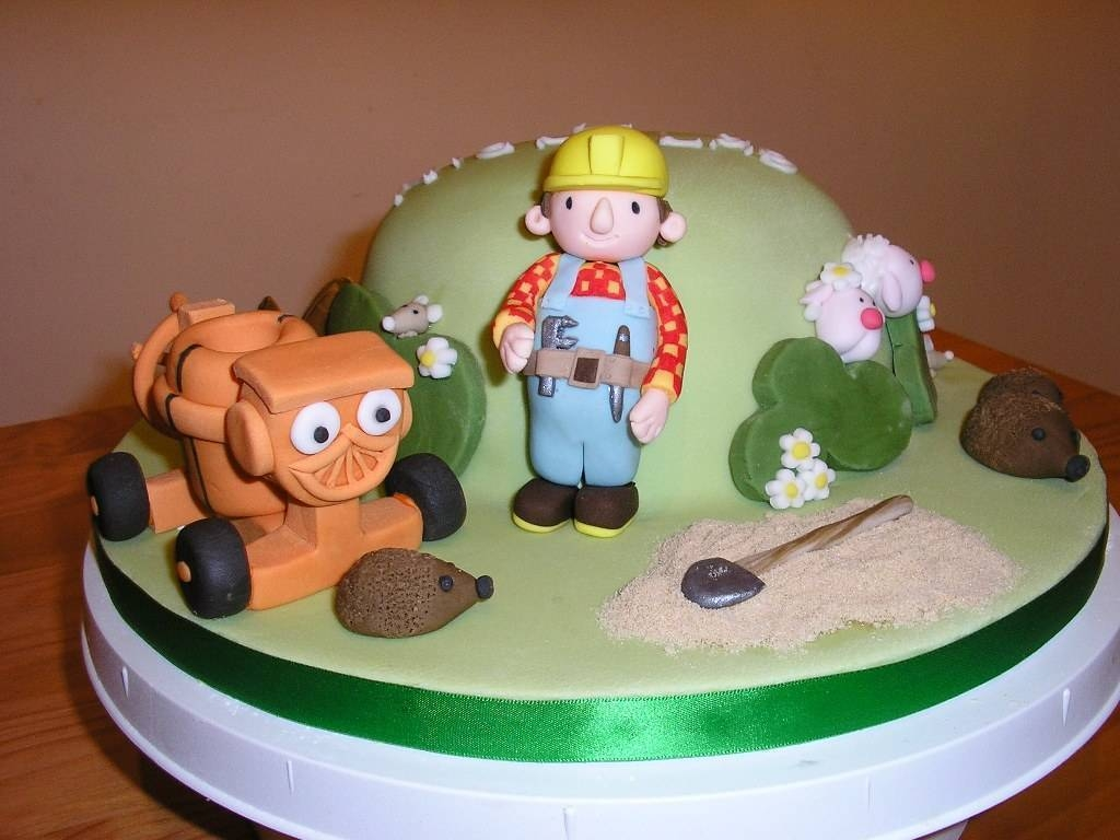 Bob The Builder Cakes Decoration Ideas Little Birthday