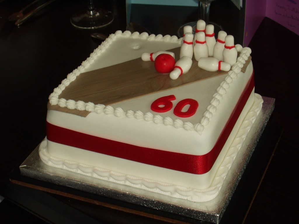 Bowling Ball Birthday Cake