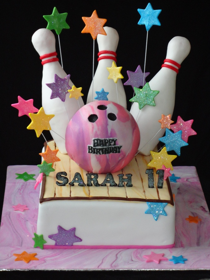 Bowling Ball Birthday Cake Ideas