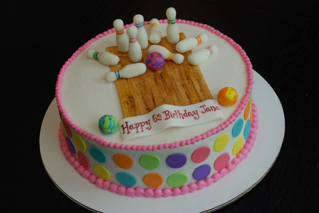 Bowling Birthday Cakes Pictures