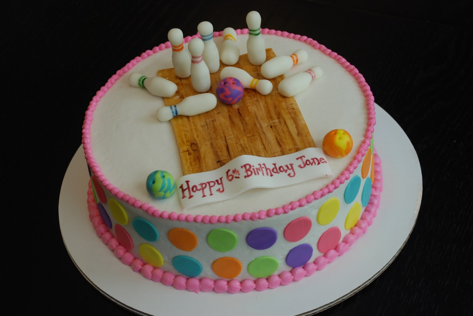 Bowling Ball Birthday Cake Gif
