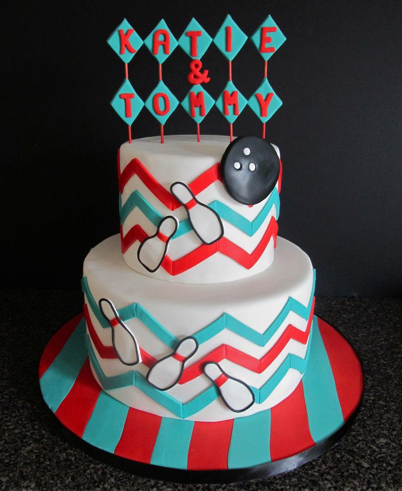 Bowling Cakes Decoration Ideas Little Birthday Cakes