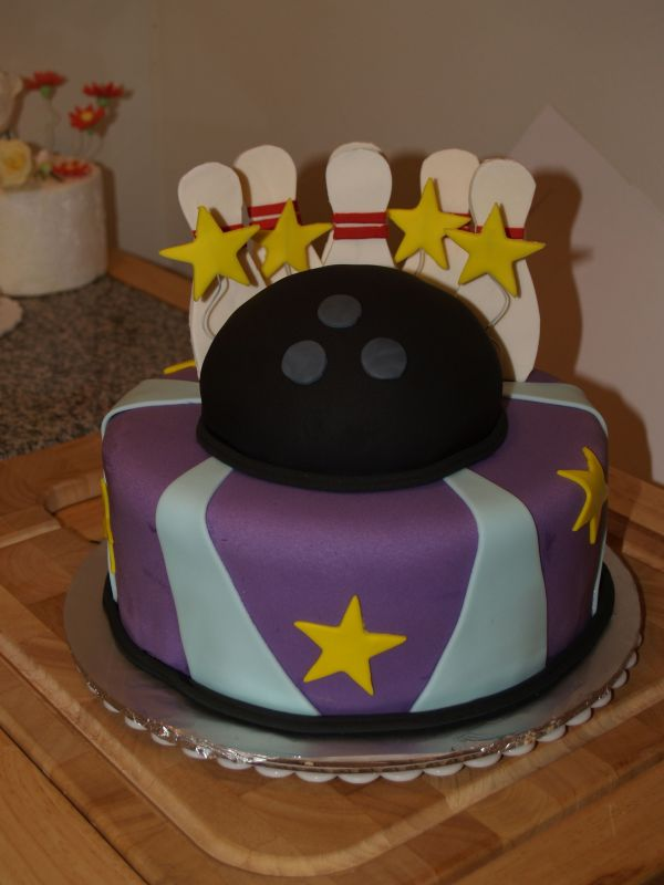 Bowling Ball Birthday Cake Ideas