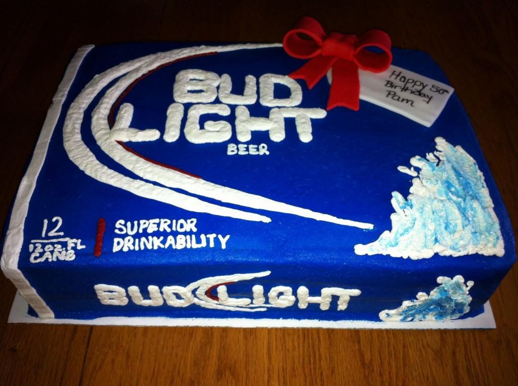 How To Make Bud Light Cake
