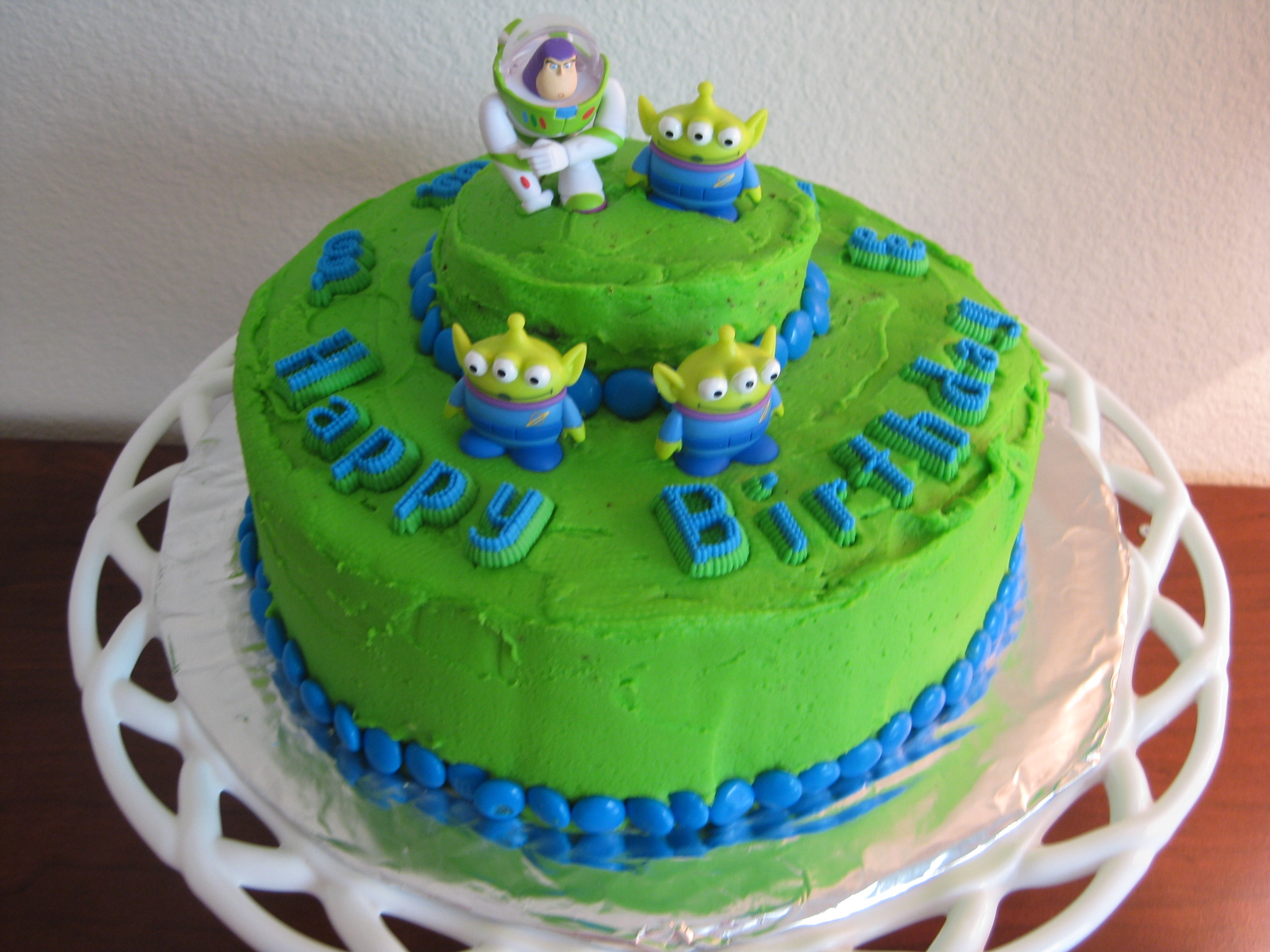 Buzz And Woody Birthday Cakes