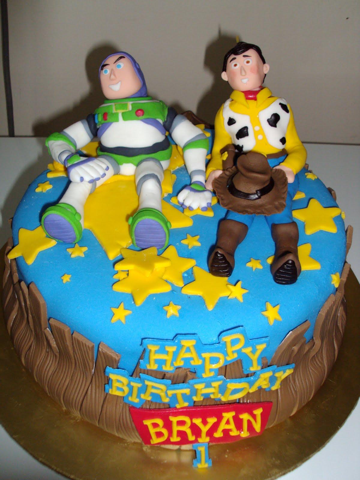 Buzz Lightyear Cakes Decoration Ideas Little Birthday