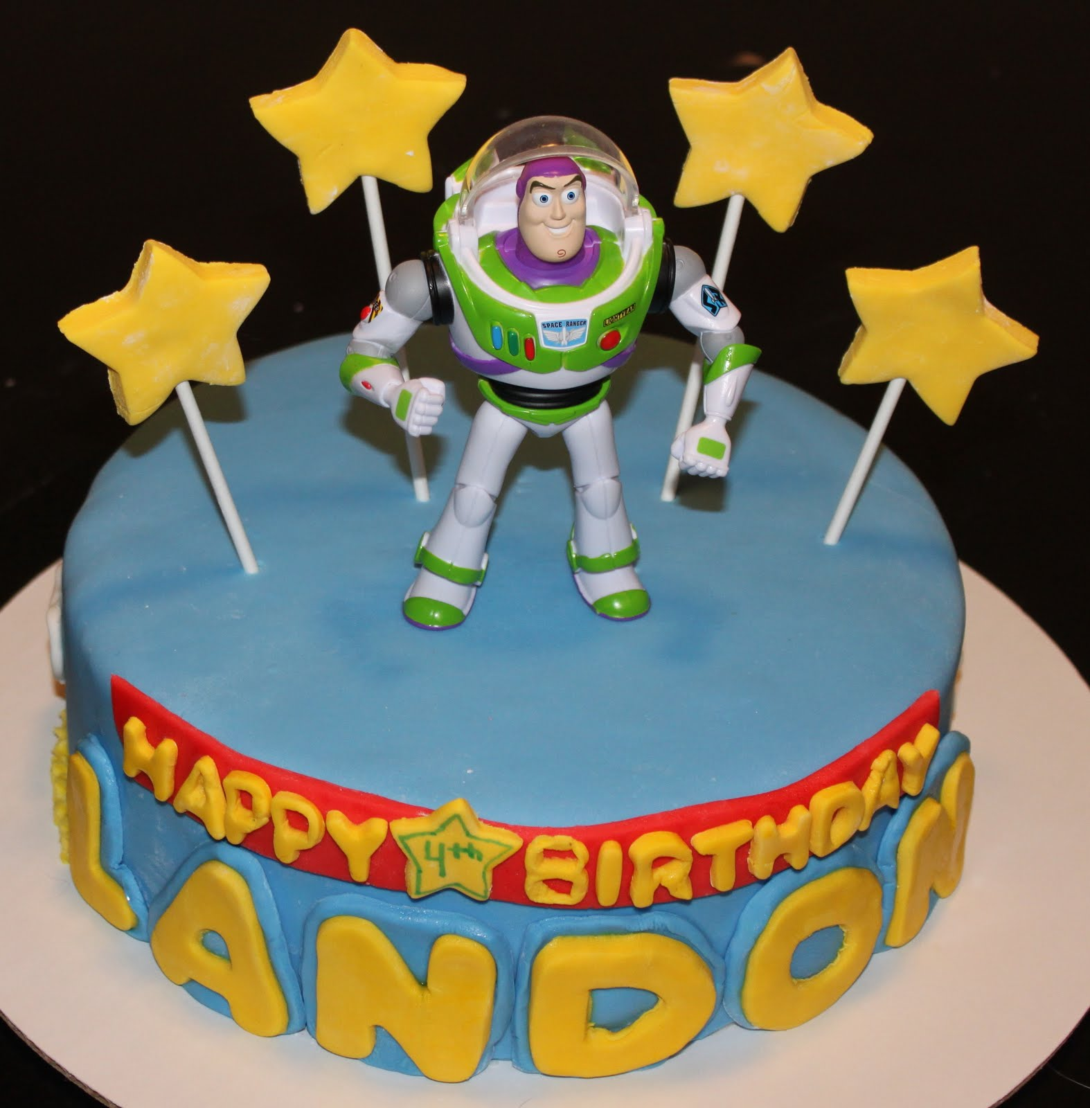 Buzz Lightyear Cake Ideas