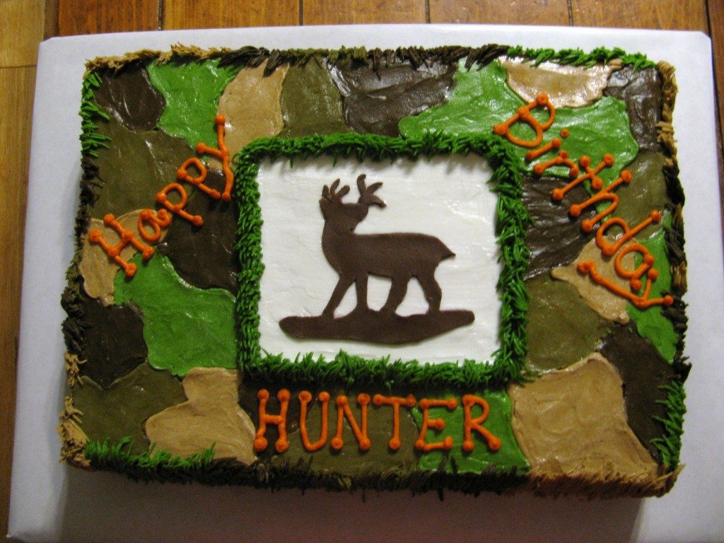 Camo Cakes Pictures