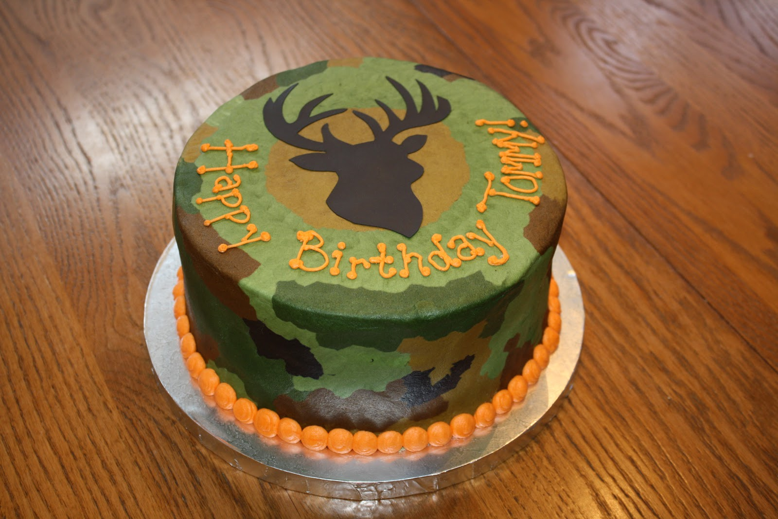 Hunting Cake Decor : Camo Cakes   Decoration Ideas Little Birthday Cakes