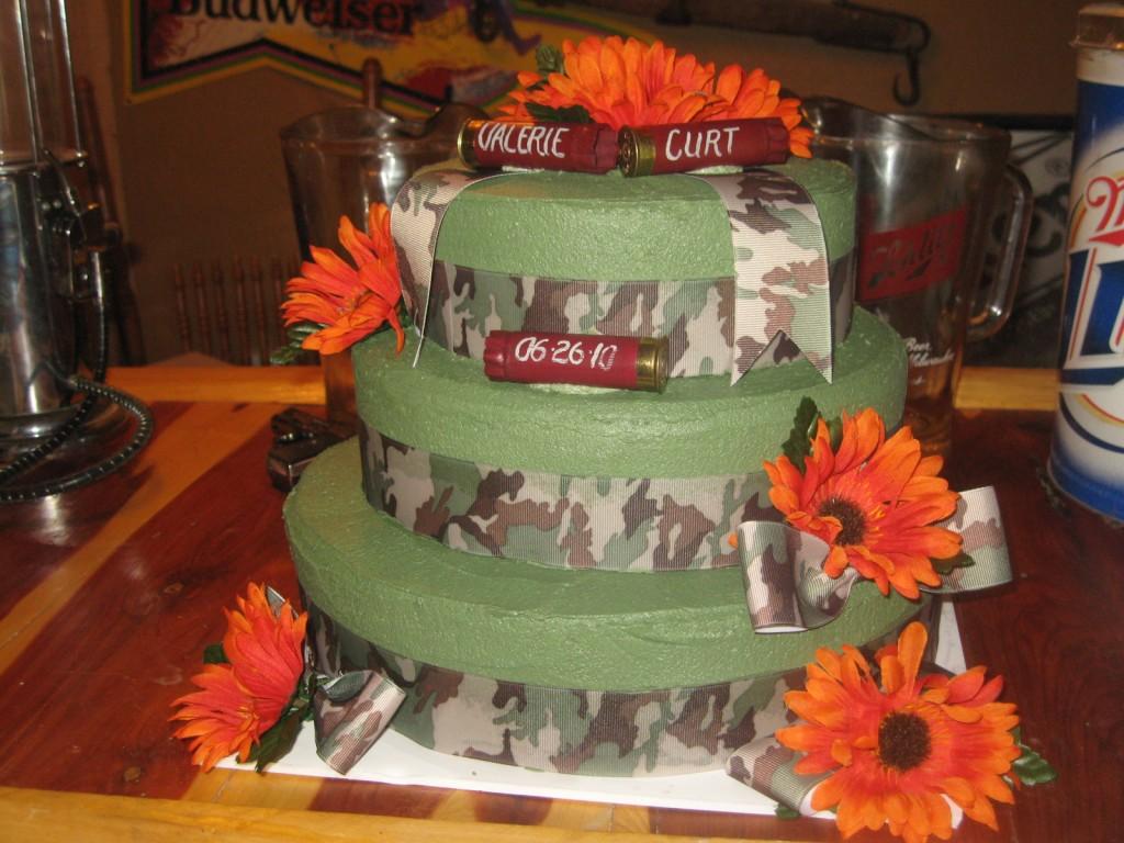 Camo Wedding Cakes