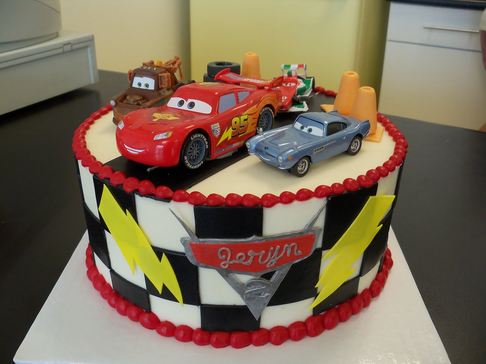 Cake Designs With Cars : Cars Cakes   Decoration Ideas Little Birthday Cakes
