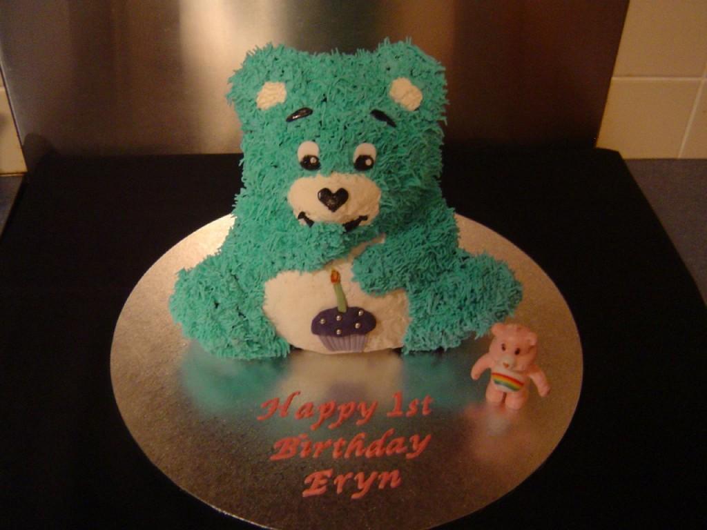 Care Bears Birthday Cake