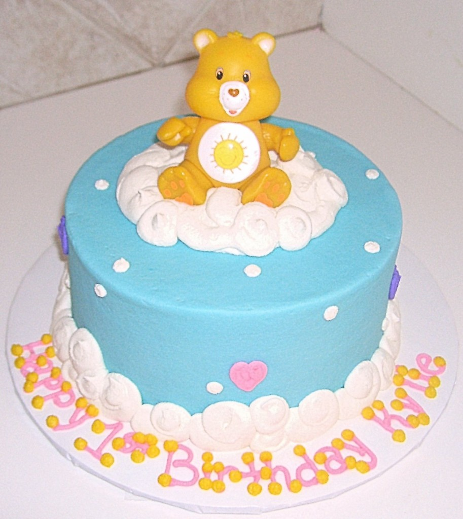 care bear cakes � decoration ideas little birthday cakes