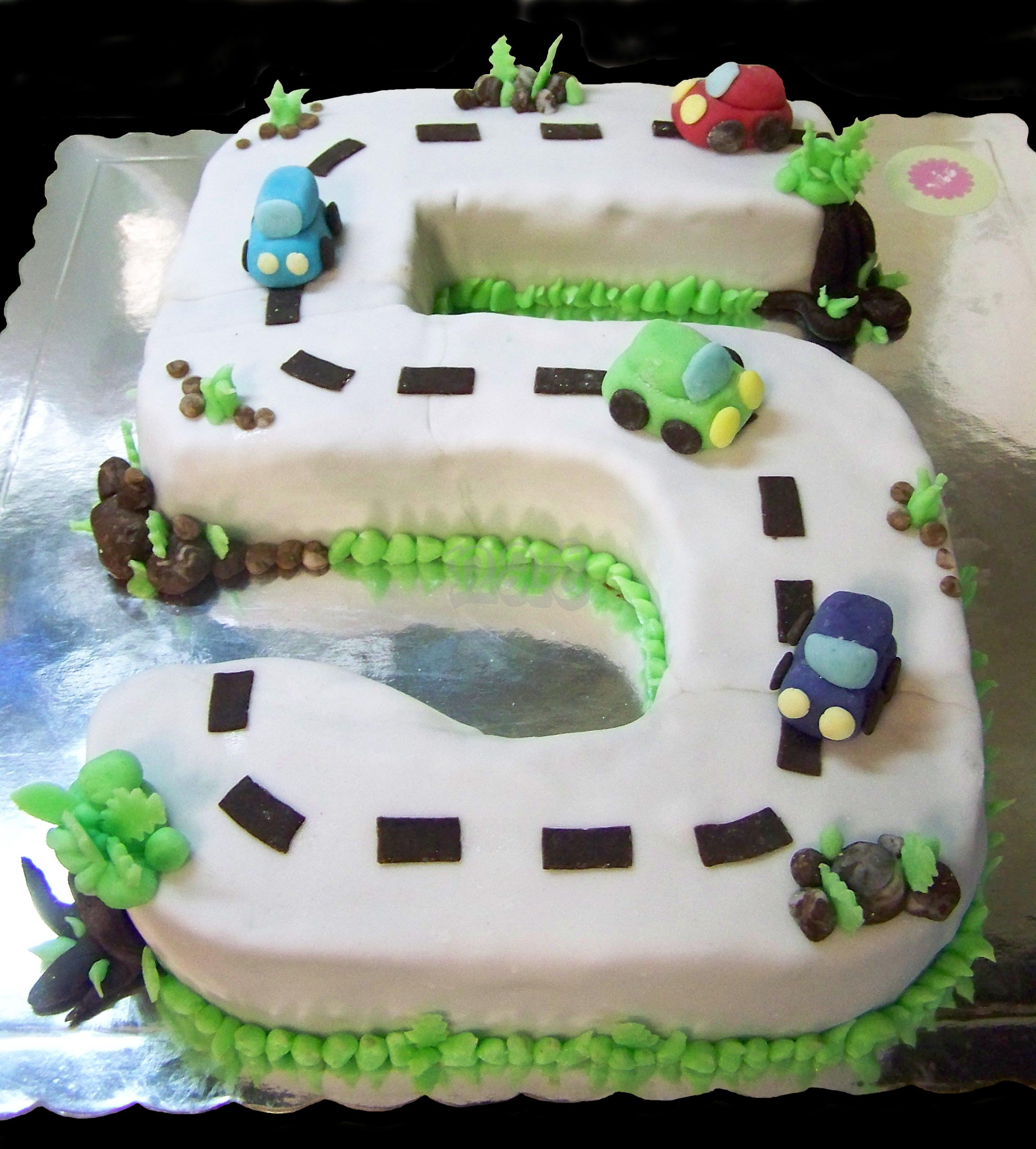 Cake Designs With Cars : Car Shaped Birthday Cakes images