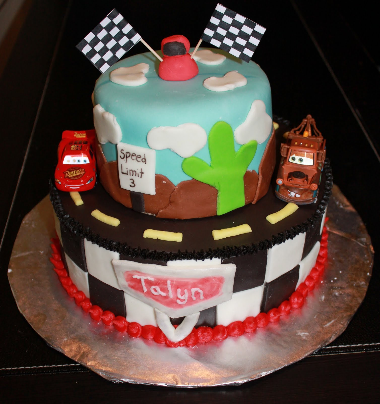 Cake Design Cars Theme : Cars Cakes   Decoration Ideas Little Birthday Cakes