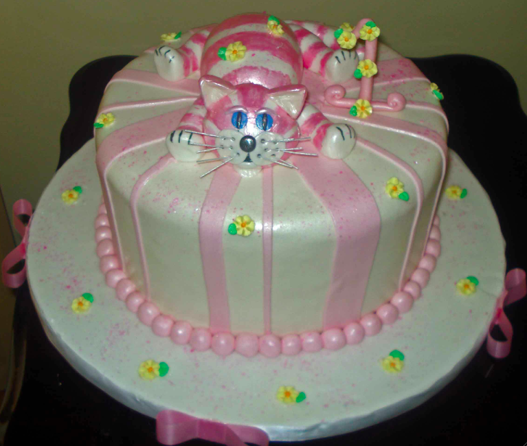 Cat Cake Cat birthday cake