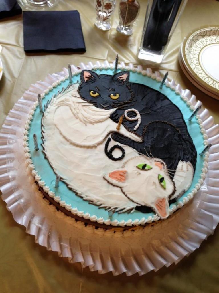 Cake Decorating Ideas Cat : Cat Cakes   Decoration Ideas Little Birthday Cakes