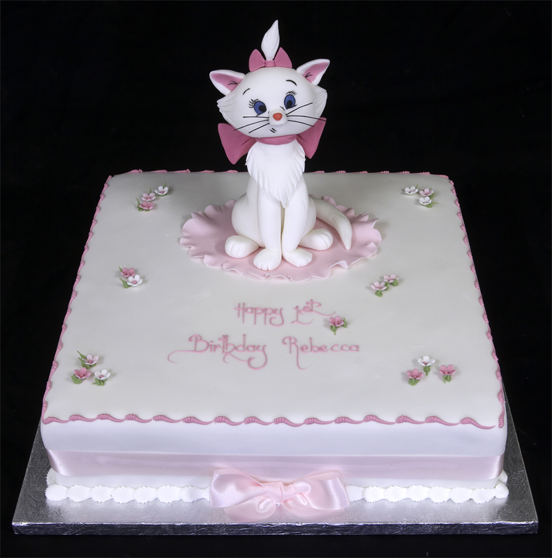 Birthday Cake Cat Theme