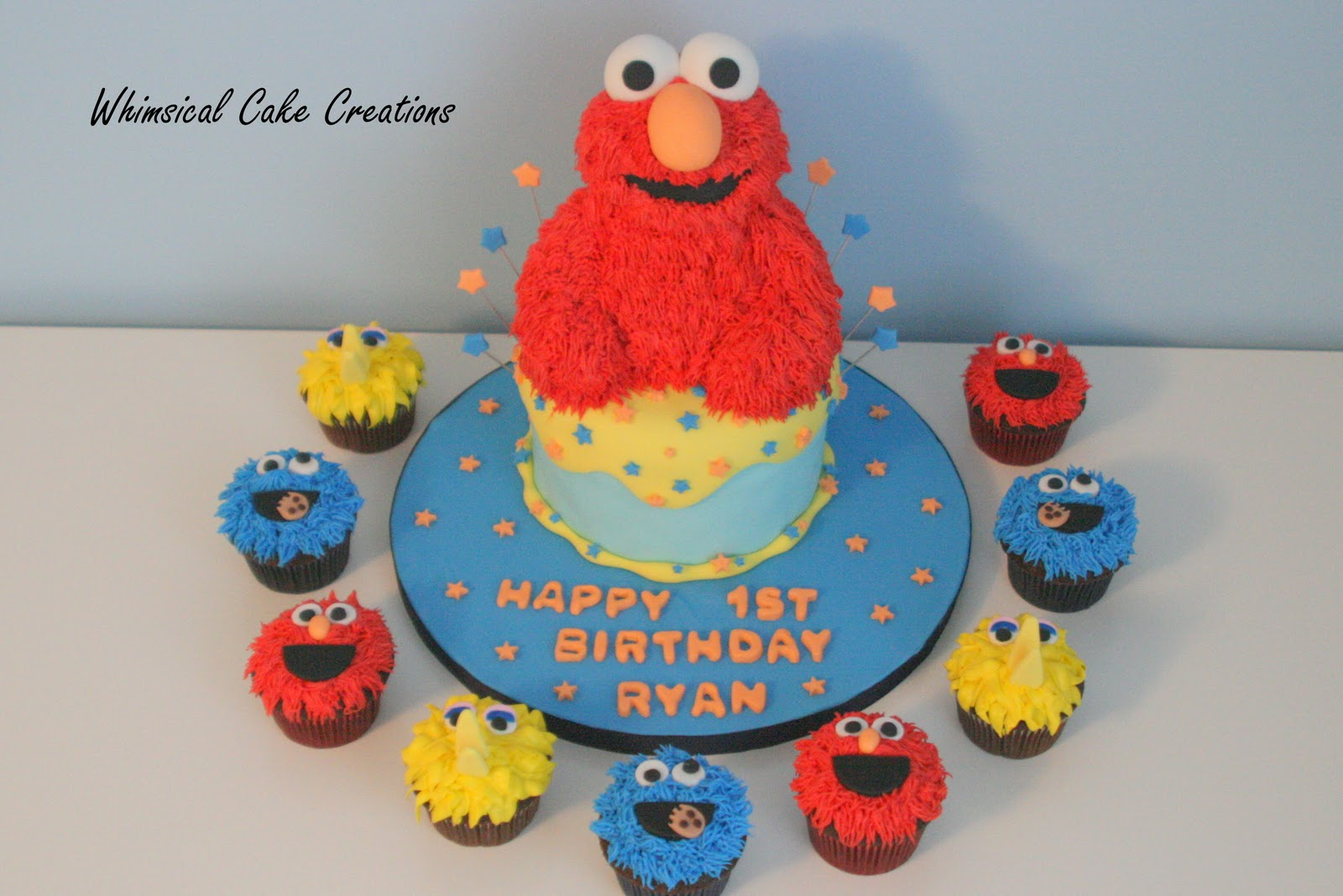 Cookie Monster Cakes Decoration Ideas Little Birthday Cakes