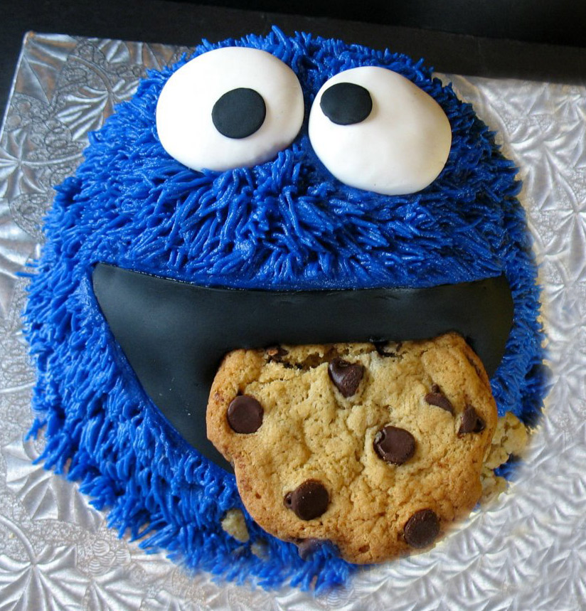 Pics Photos Cookie Monster Cake Large Jpg