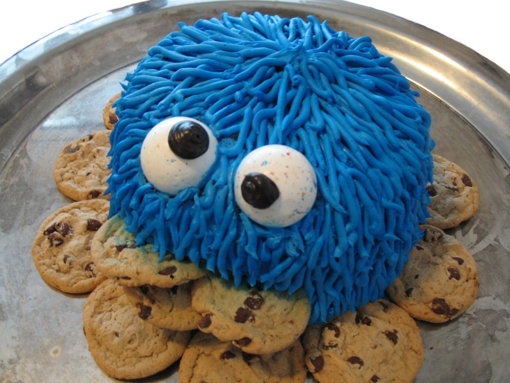Cookie Monster Cakes   Decoration Ideas Little Birthday ...