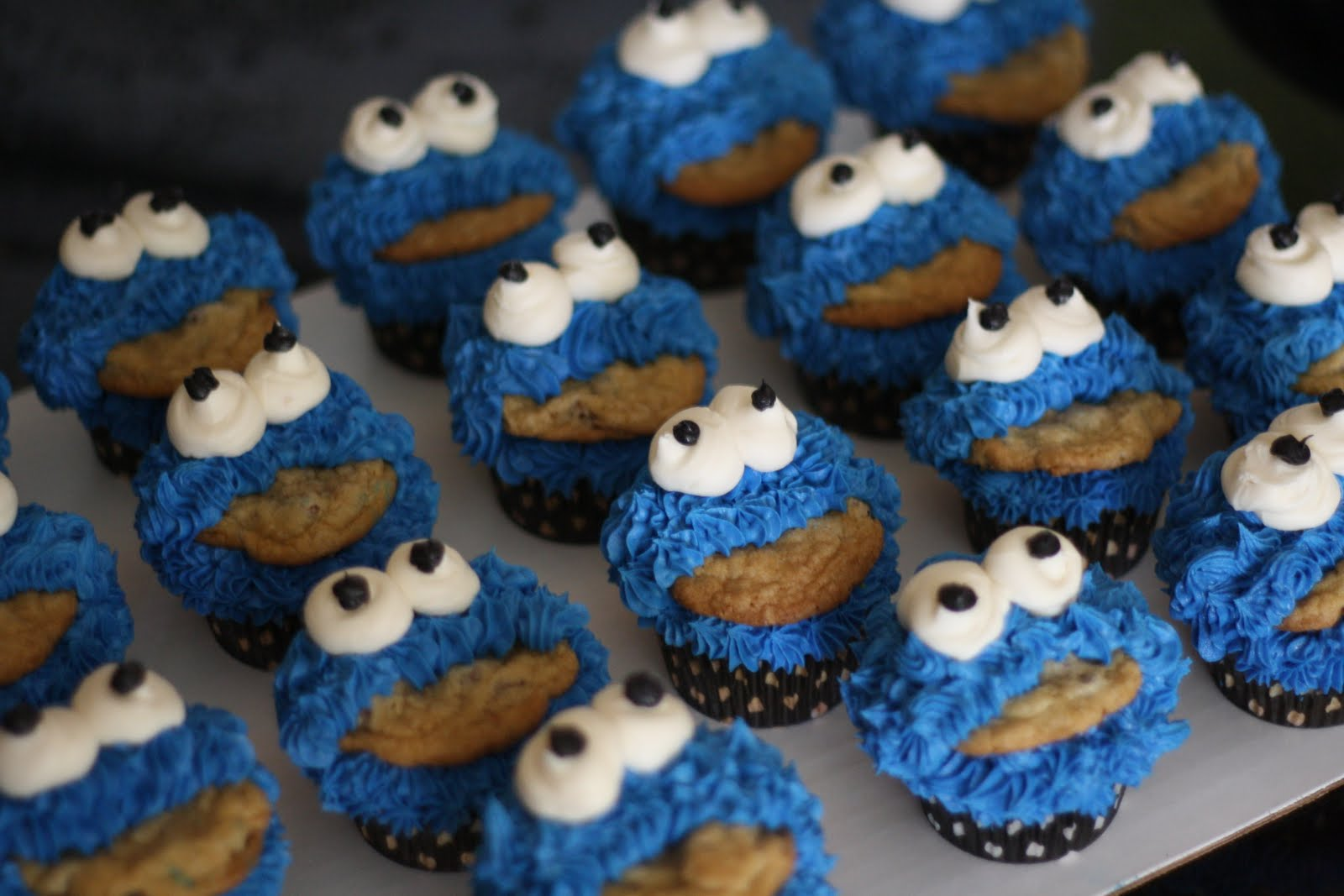 Cookie Monster Cakes – Decoration Ideas | Little Birthday ...