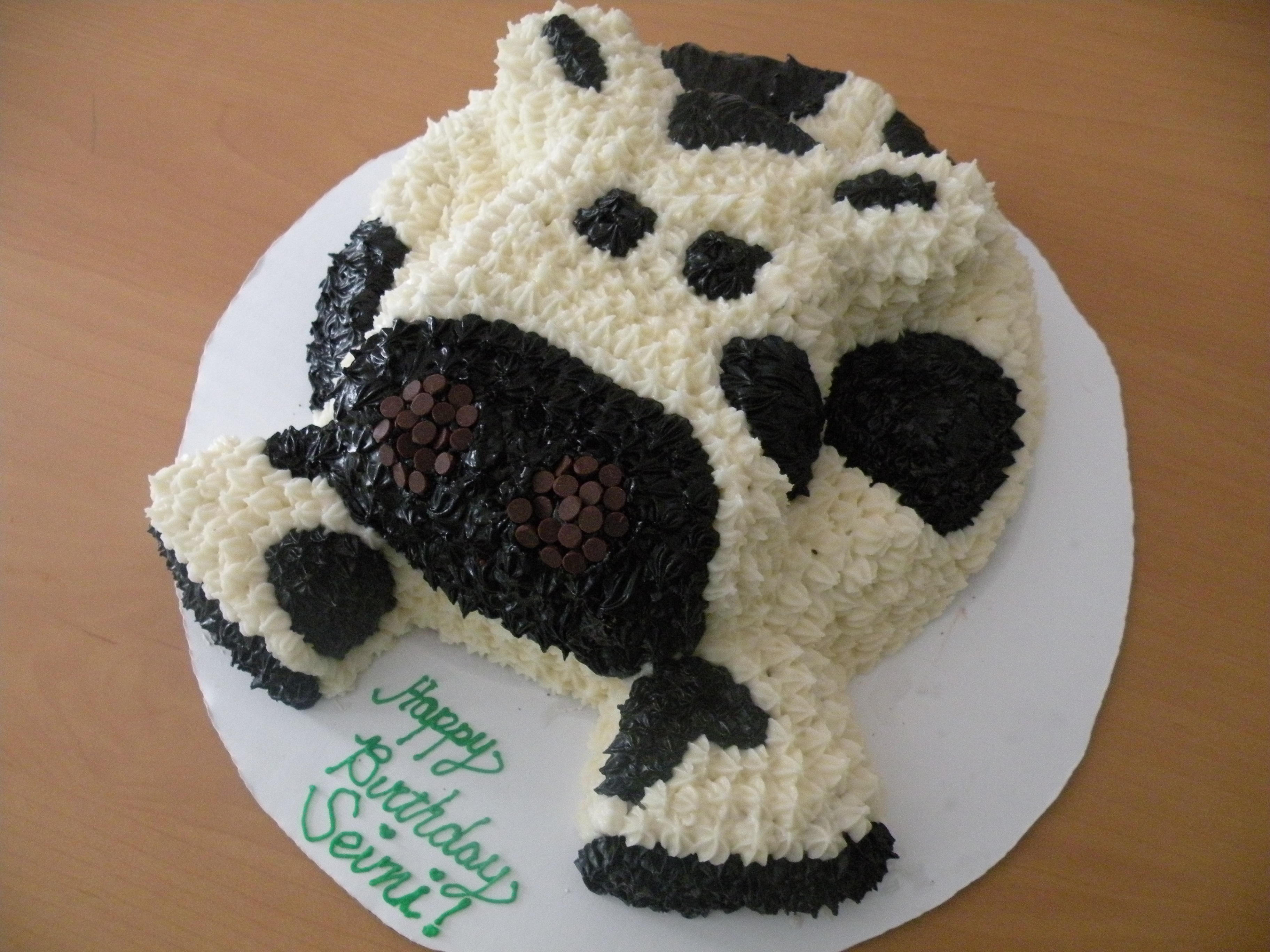 Easy Cow Cake Design : Cow Cakes   Decoration Ideas Little Birthday Cakes