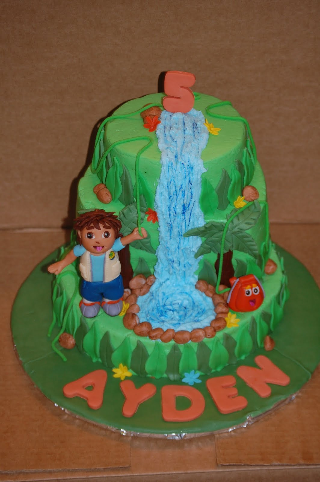 Diego Cakes Decoration Ideas Little Birthday Cakes