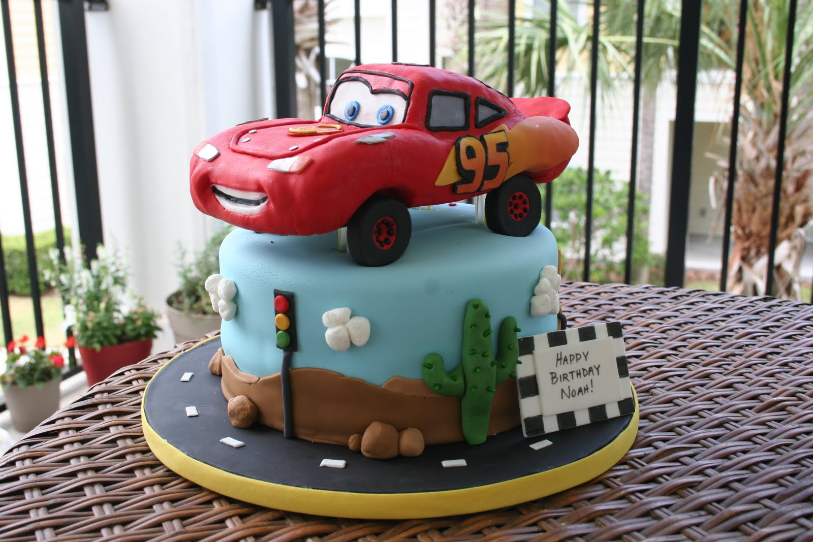 Birthday Cake Images With Car : Cars Cakes   Decoration Ideas Little Birthday Cakes