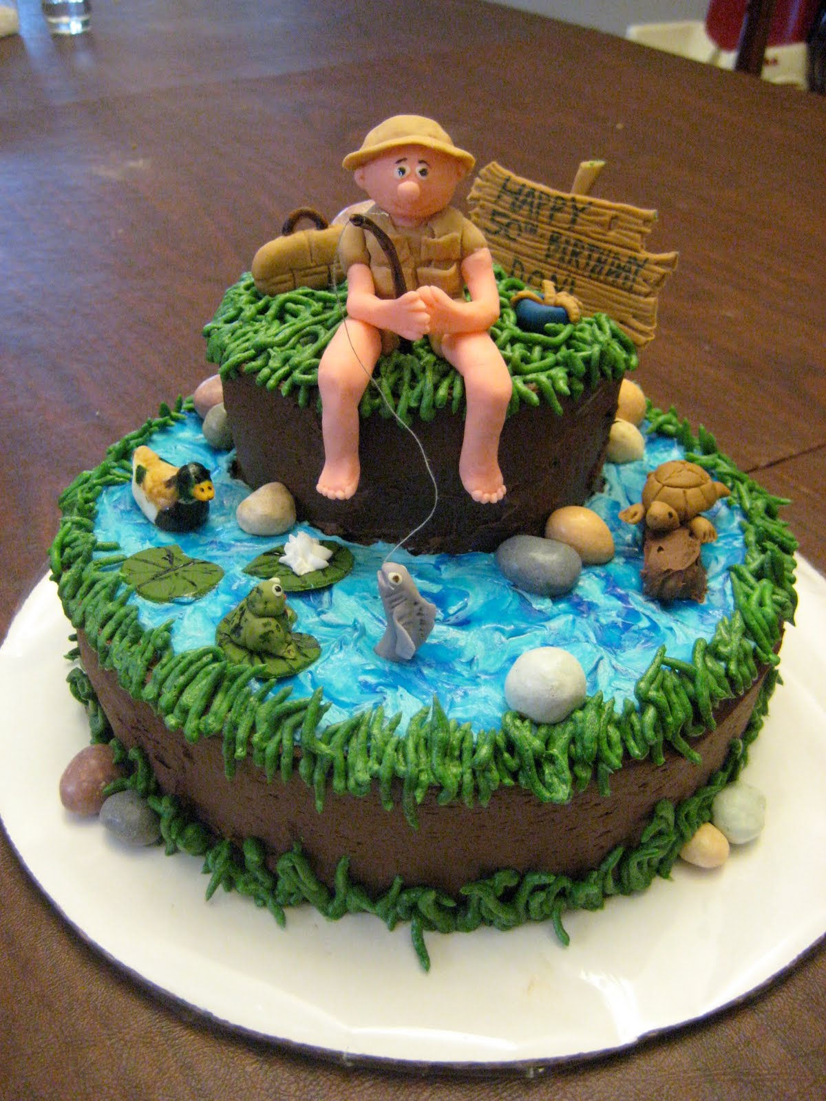 Cake Designs And Images : Fishing Cakes   Decoration Ideas Little Birthday Cakes