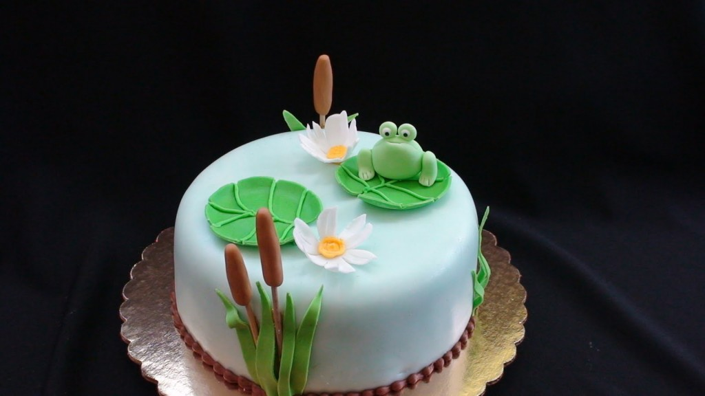 Frog Cakes Decoration Ideas Little Birthday Cakes