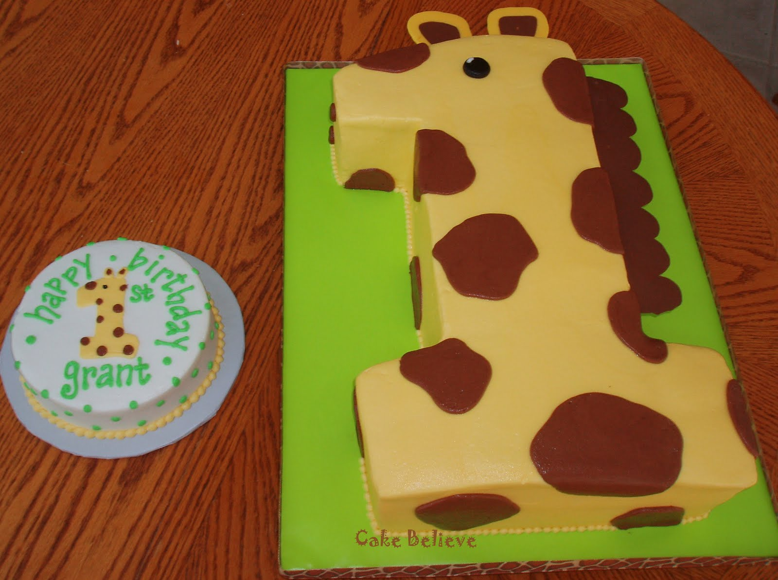 Giraffe Cakes Decoration Ideas Little Birthday Cakes