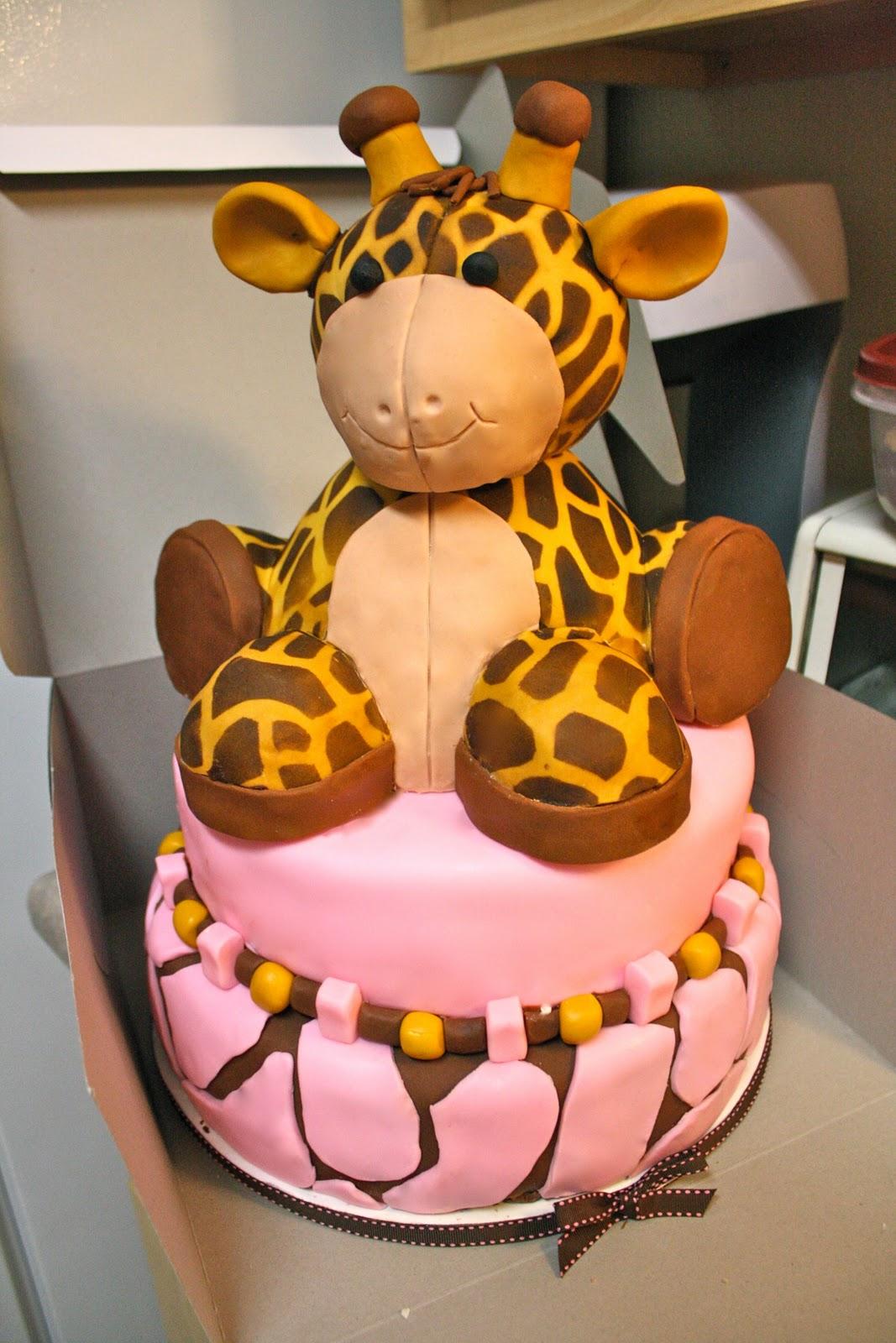 giraffe baby shower decorations giraffe cake pictures