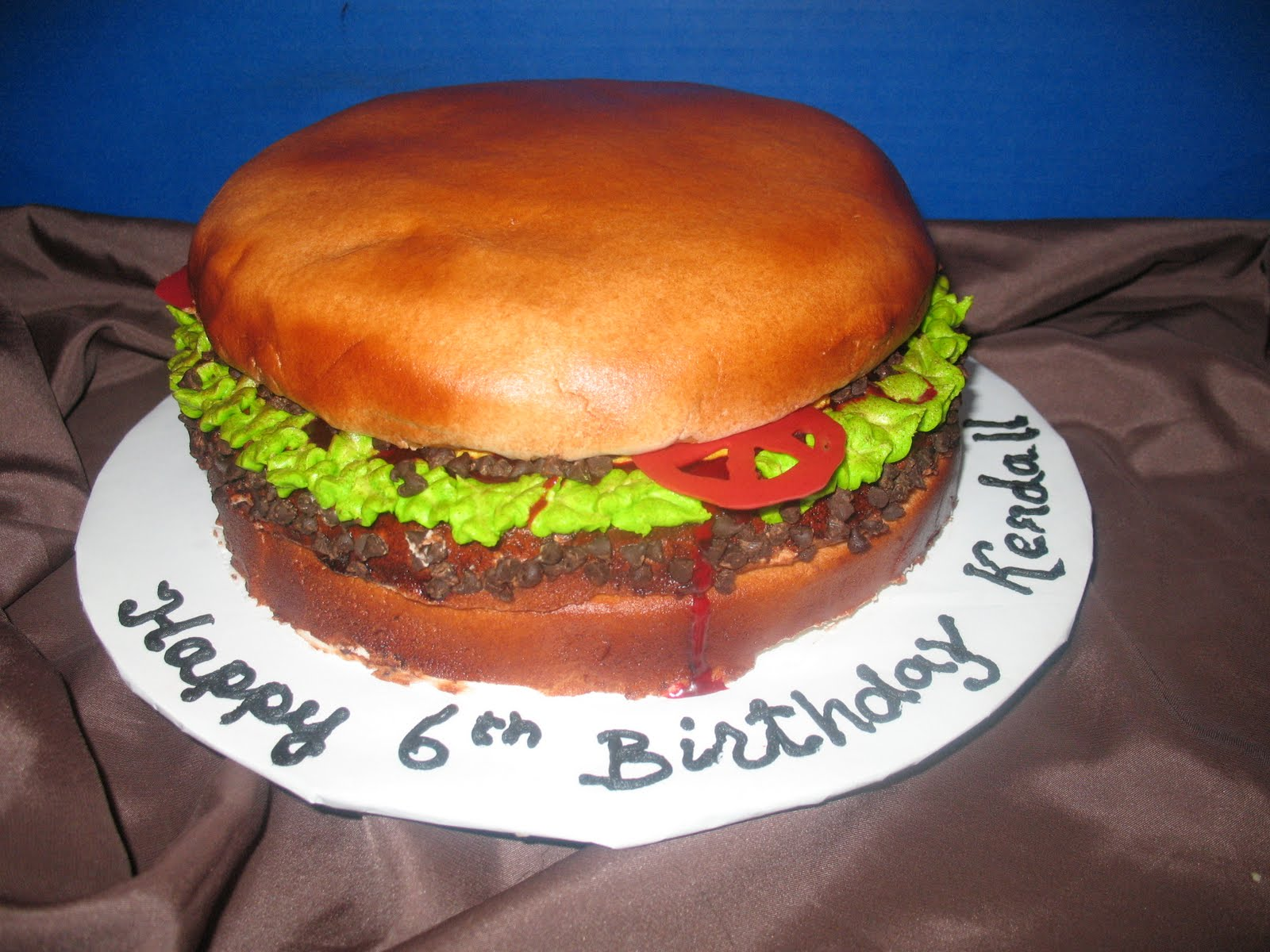 Hamburger Cakes Decoration Ideas Little Birthday Cakes