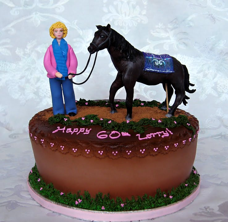 Pin Horse Birthday Cakes   Decoration Ideas Cake on Pinterest