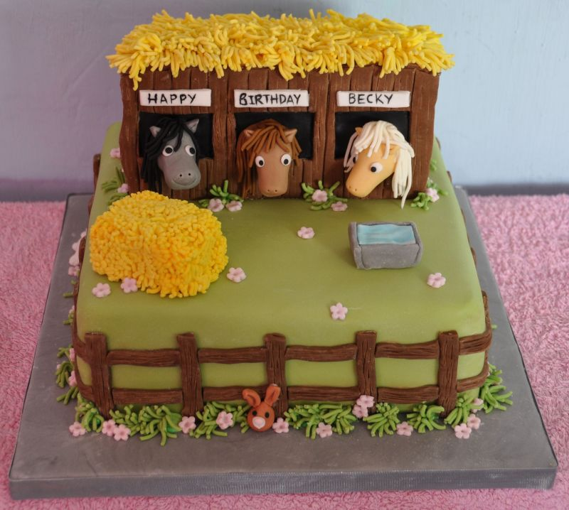 Petting Zoo/horse Cakes On Pinterest