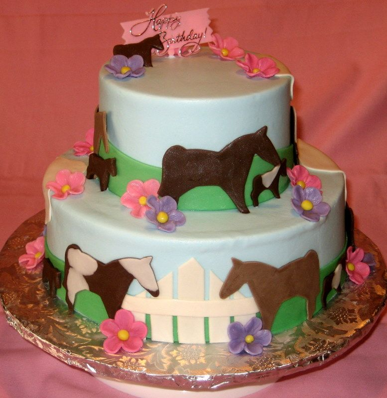Horse Birthday Cakes Decoration Ideas Little Birthday