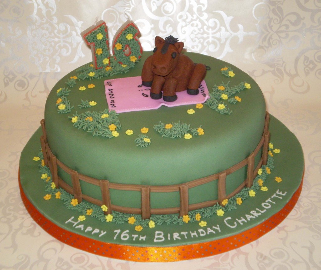 horse designs for cakes