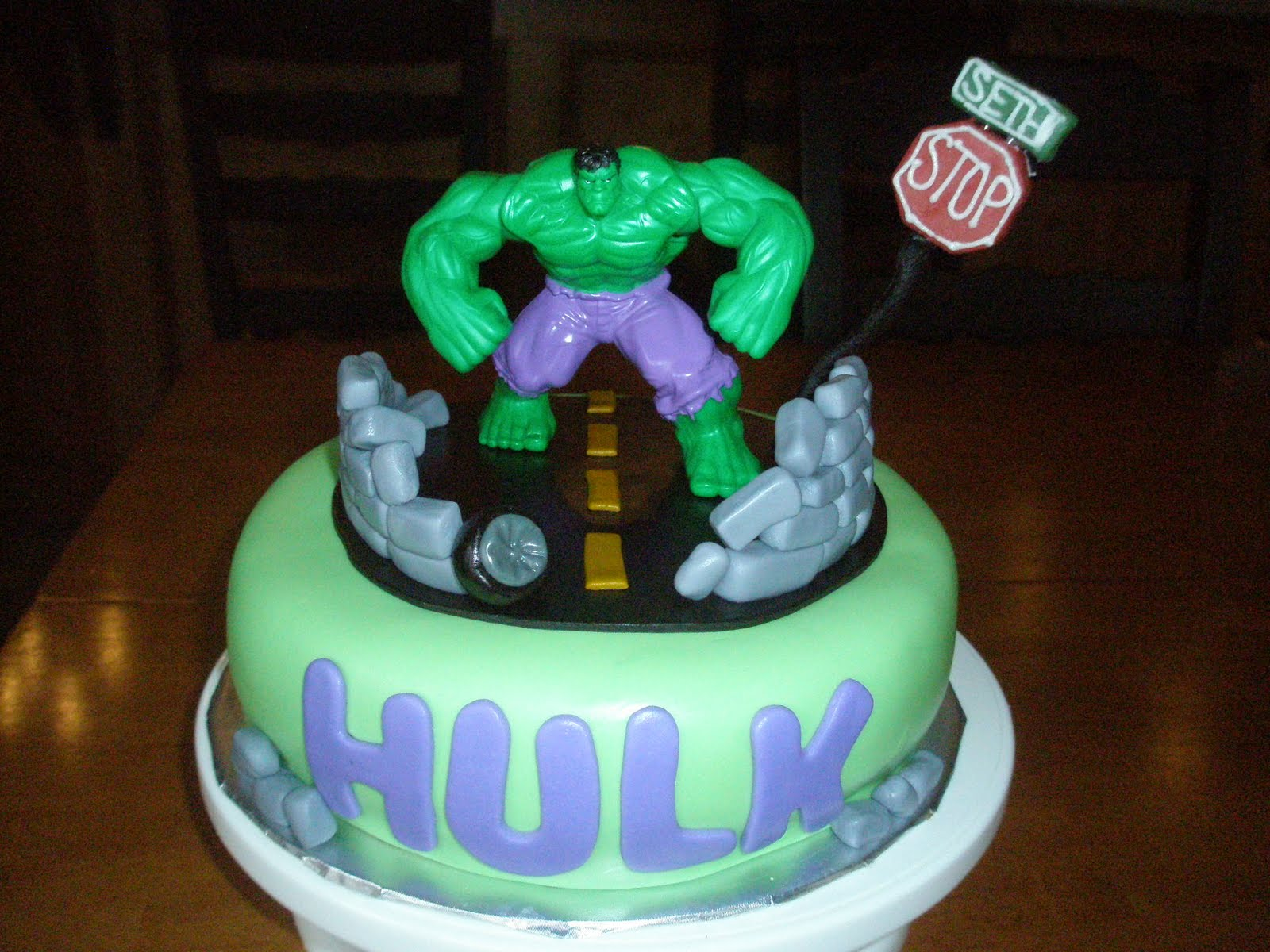 Incredible Hulk Birthday Cake Ideas