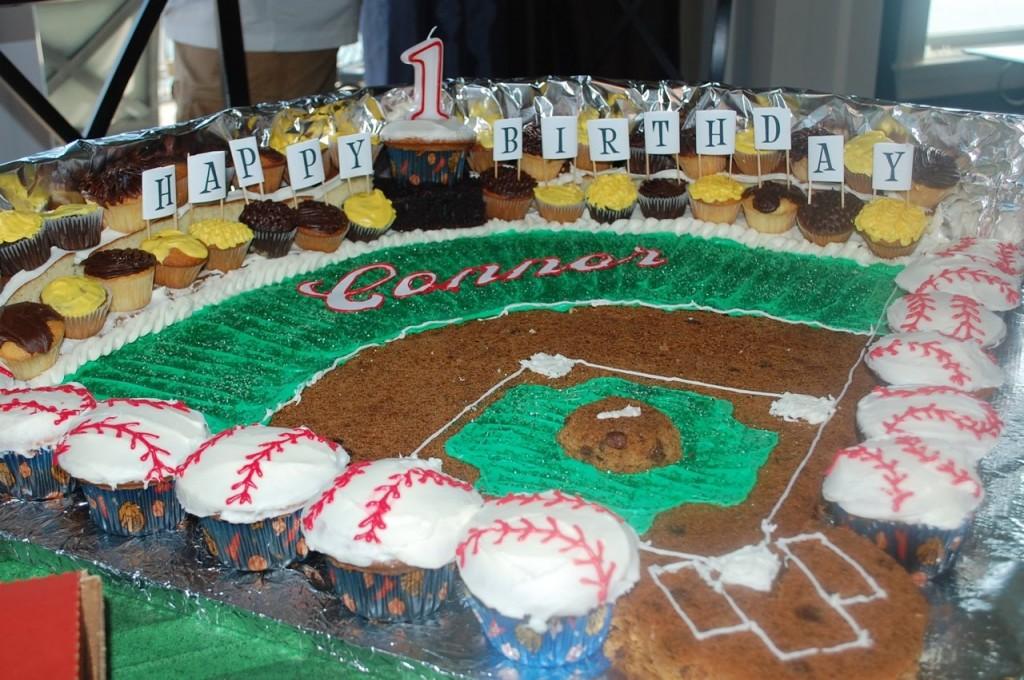 Baseball Field Cakes Decoration Ideas Little Birthday