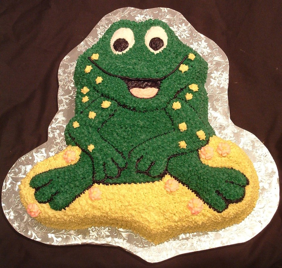 Bullfrog Birhtday Cake