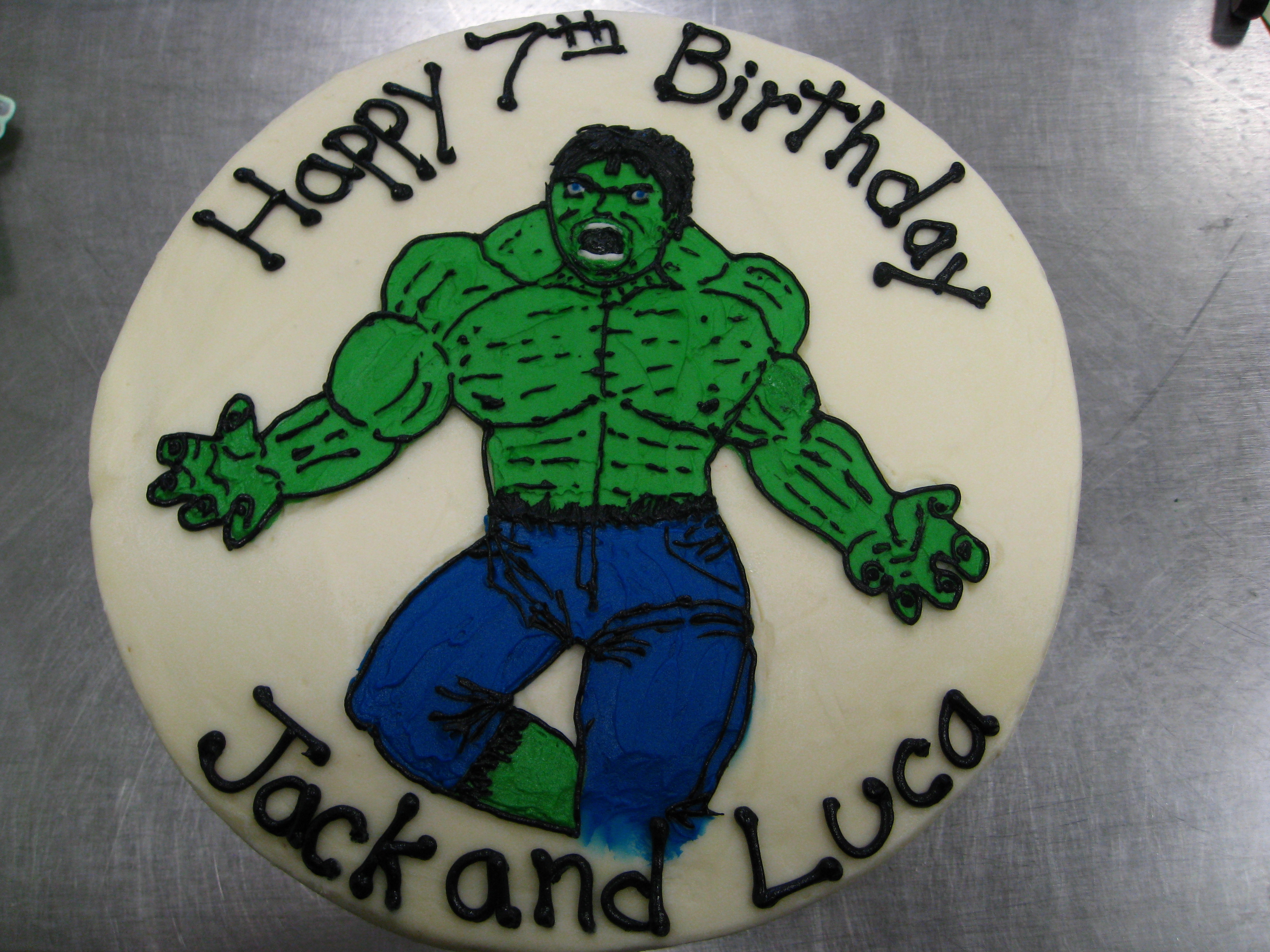Hulk Cakes Decoration Ideas Little Birthday Cakes