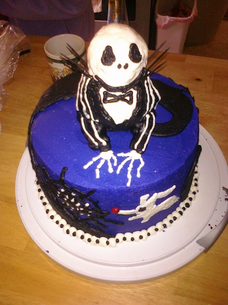 Images of Jack Skellington Cakes