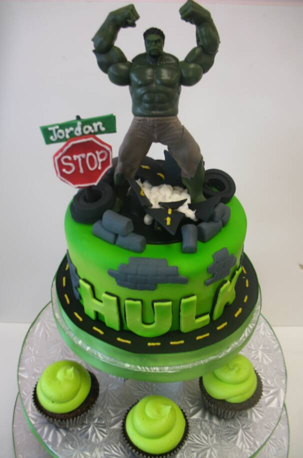 Hulk Cake hulk cakes – decoration ideas little birthday cakes
