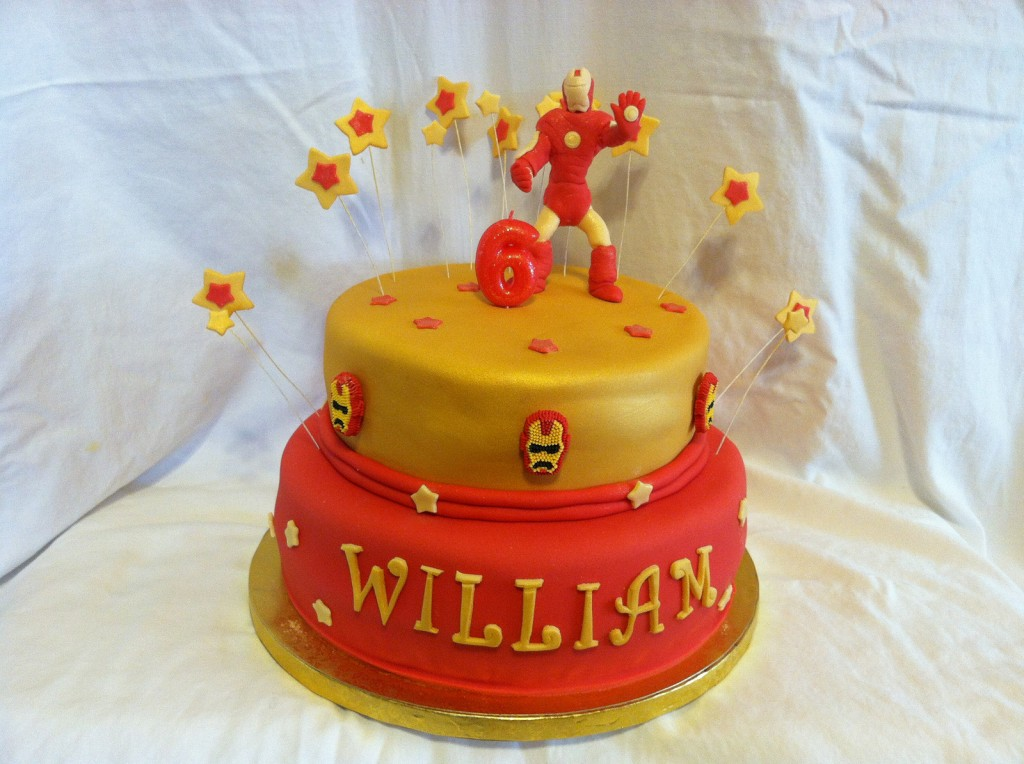 Iron Man Birthday Cake Ideas