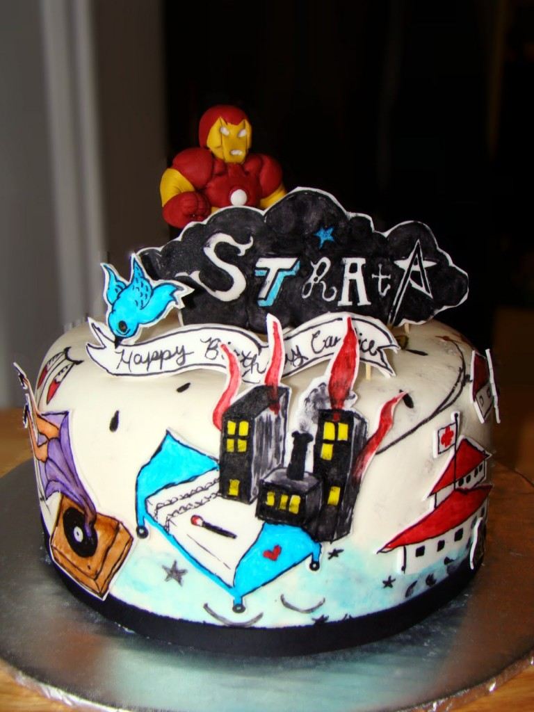 Iron Man Birthday Cakes